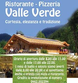 valle verde pizzeria predazzo